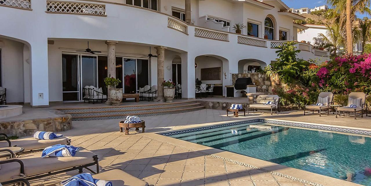 Los Cabos, Mexico - 5 Bedroom Beachfront Villa 462