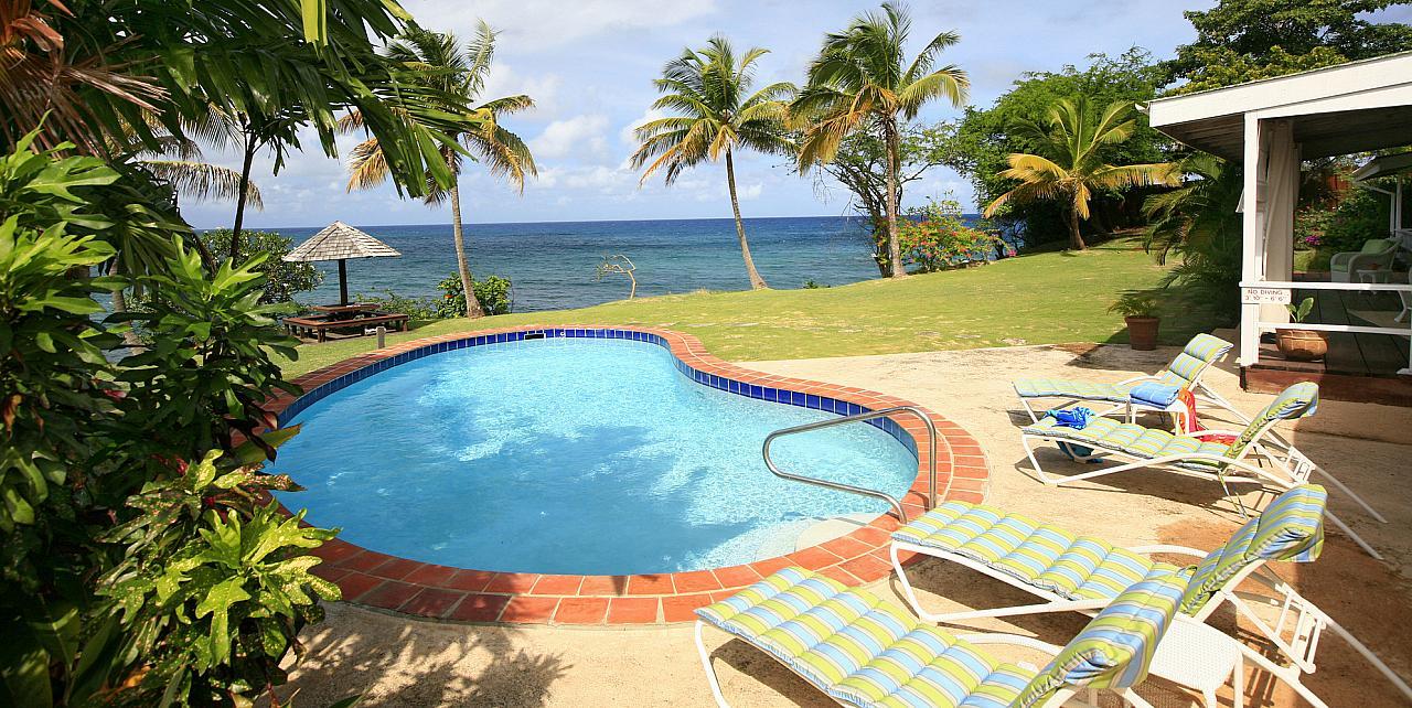 St Lucia, 2 Bedroom Villa Sea Pearl