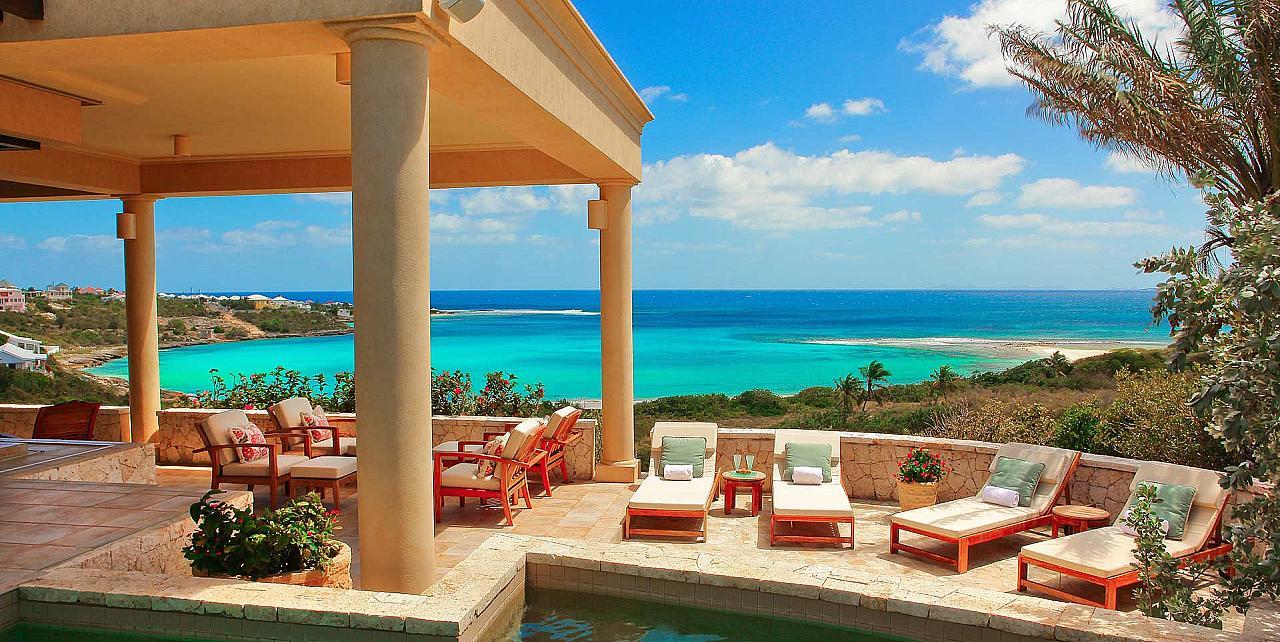 Villa Bird of Paradise , 4 bedroom villa in Anguilla